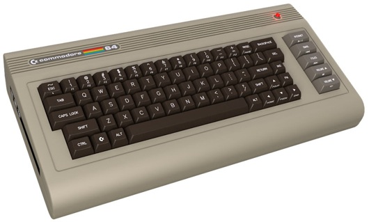 The New Commodore C-64