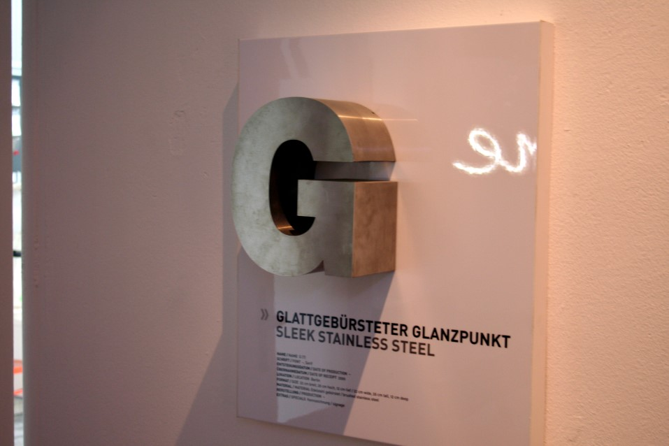 Das Berliner Buchstabenmuseum  The Berlin Museum of Letters realizes a typographic vision from A to Z